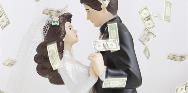 sposarsi per soldi
